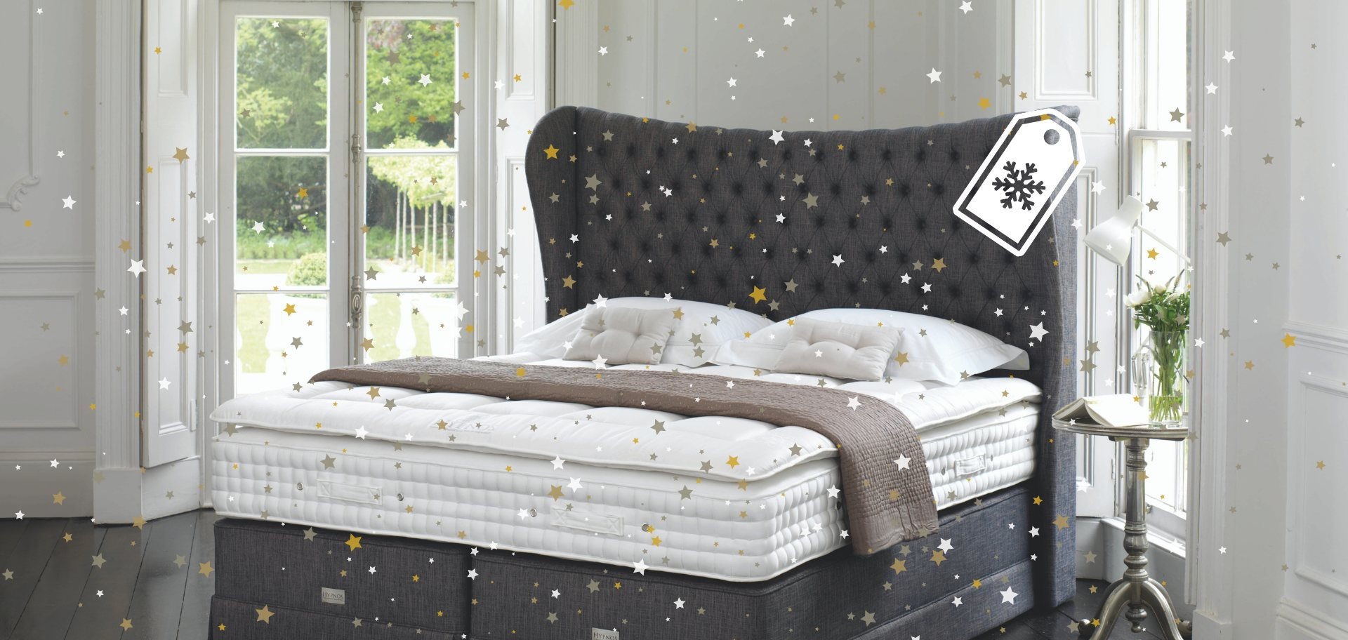 Save up to 40% on Hypnos Beds, Mattresses & Headboards