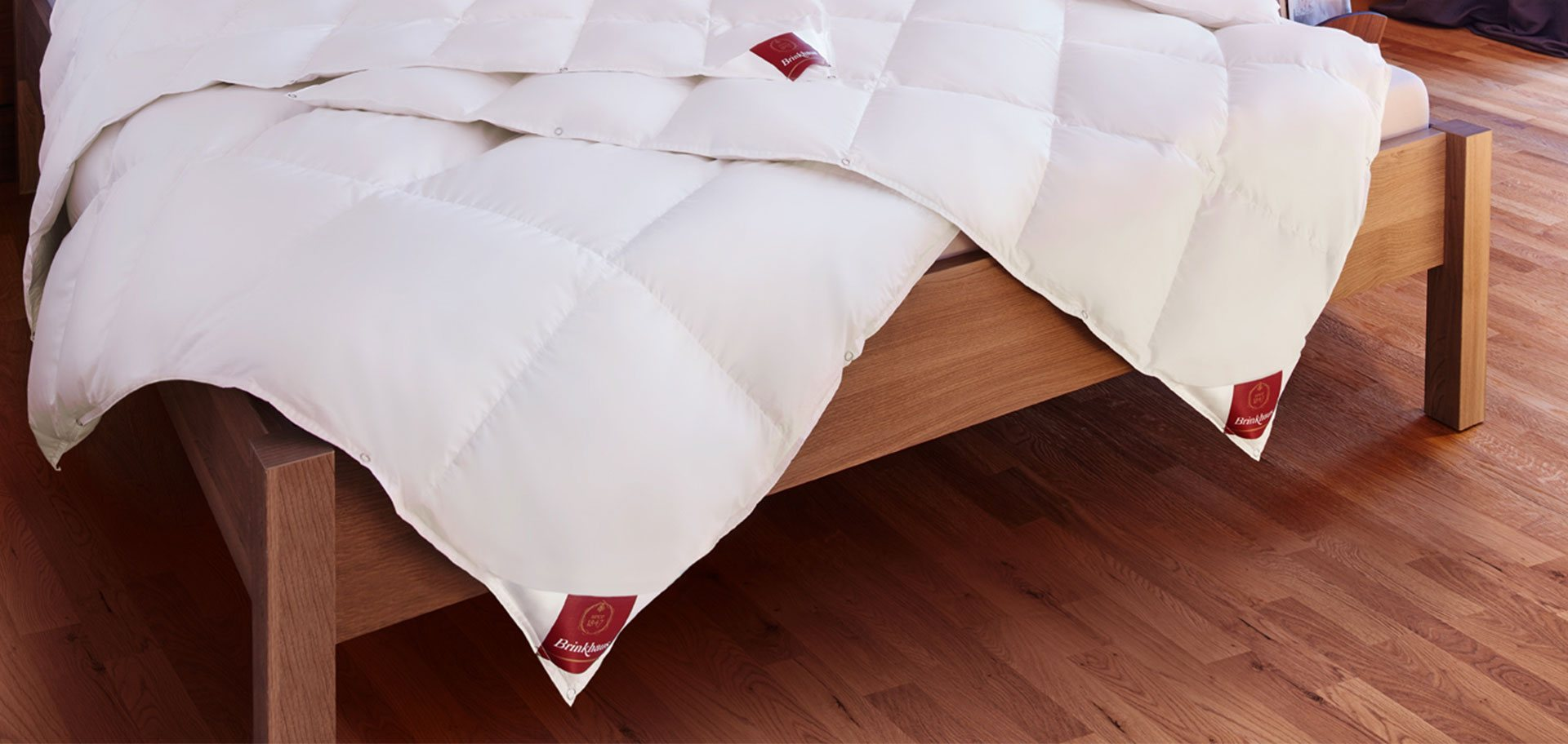 Save 20% across the entire Brinkhaus Bedding range