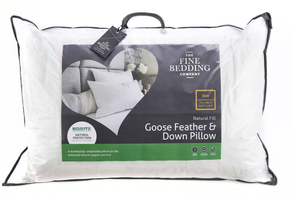 Down Pillow by The Fine Bedding Company