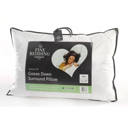 Goose Down Surround Pillow by The Fine Bedding Company