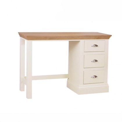 Hambledon Single Pedestal Dressing Table with Optional Mirror & Stool