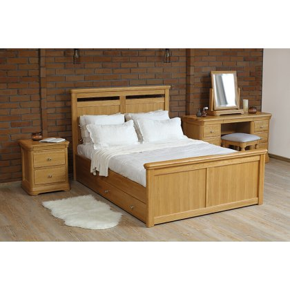 Lacoste Storage Bed Frame