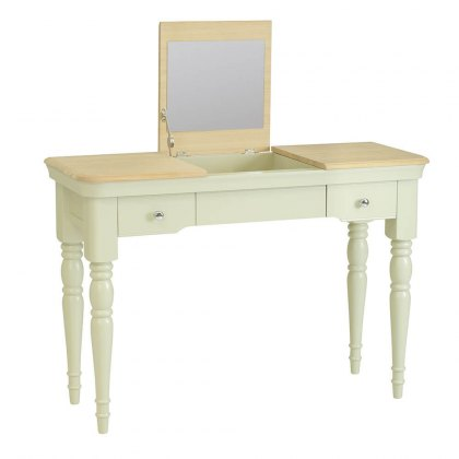 Lyon Painted Oak Dressing Table Console with optional Stool