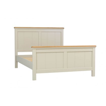 Lyon Tongue & Groove Panel Bed Frame (High Foot End)