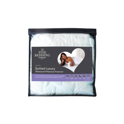 Quilted Luxury Waterproof Mattress Protector by The Fine Bedding Company