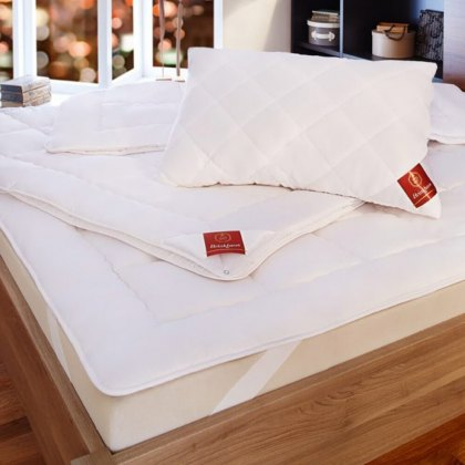 The Exquisit Mattress Topper by Brinkhaus