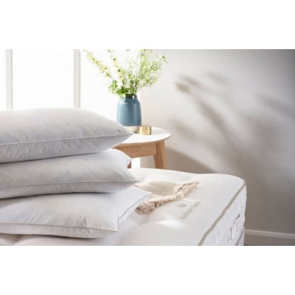 Vispring European Duck Feather and Down Pillow
