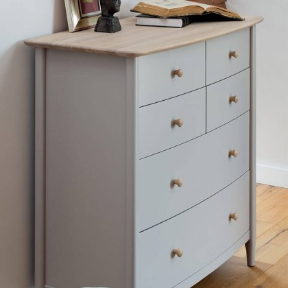 Elise Chest of Drawers - 6 Drawer (2 + 4)