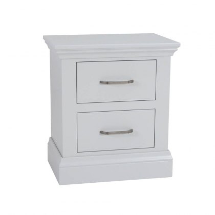 Hambledon Fully Painted Bedside Chest - Small 2 Drawer