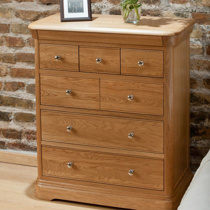 Lacoste Tall Chest of Drawers - 7 Drawer