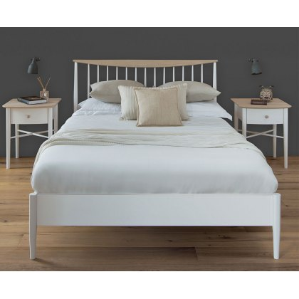Elise Slatted Bed Frame (Low Foot End)