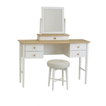 Elise Dressing Table with optional Mirror & Stool