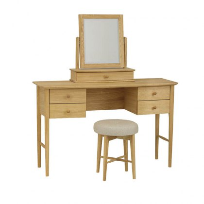 Anais Dressing Table with optional Mirror & Stool