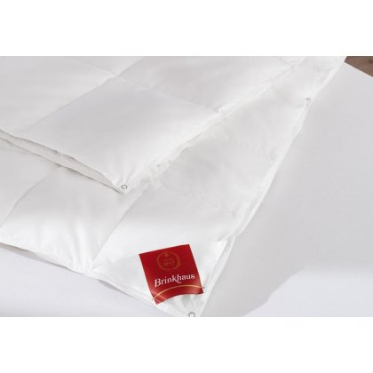 European White Goose Down 'All Seasons' Duvet by Brinkhaus (Tog: 4.5 + 8)