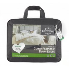 Goose Feather & Down Duvet by The Fine Bedding Company (Tog: 4.5)