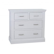Hambledon Fully Painted Chest of Drawers - 2+2 Drawer