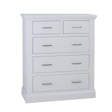 Hambledon Fully Painted Chest of Drawers - 3+2 Drawer