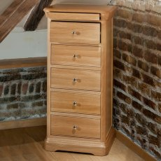 Lacoste Tallboy Narrow Chest - 5 Drawer