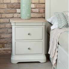 Lyon Large Bedside Chest - 2 Drawer