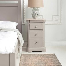 Lyon Large Bedside Chest - 3 Drawer