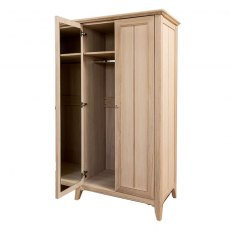 New England Oak All Hanging Wardrobe