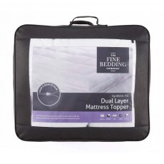 Dual Layer Mattress Topper by The Fine Bedding Company