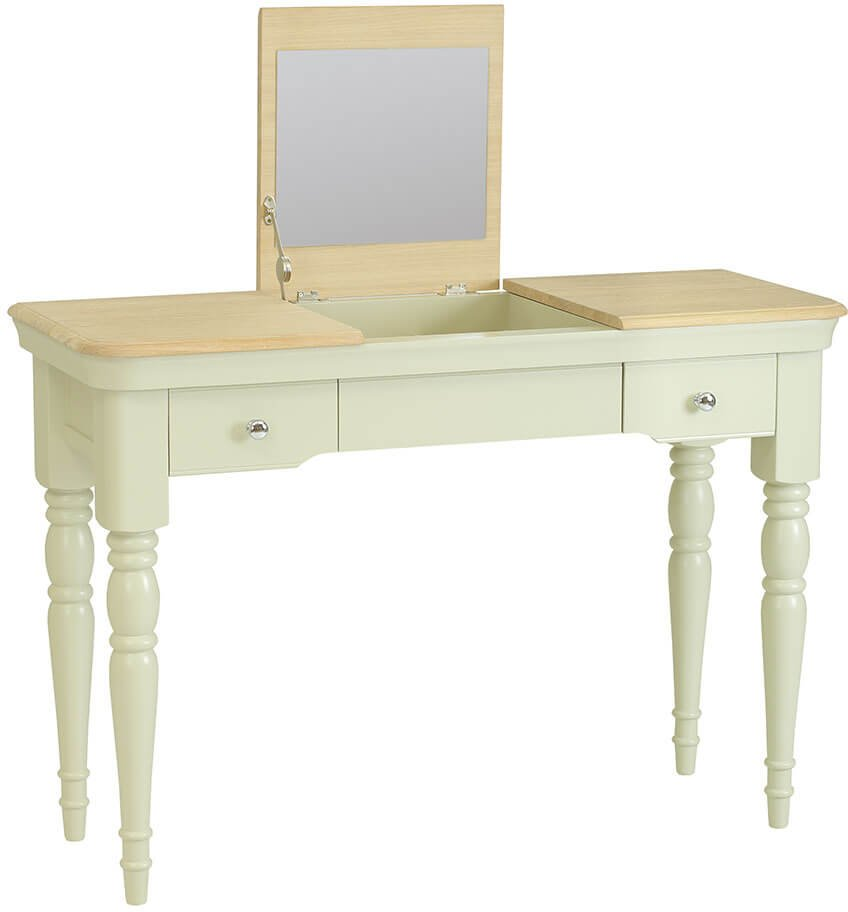 Lyon Painted Oak Dressing Table Console