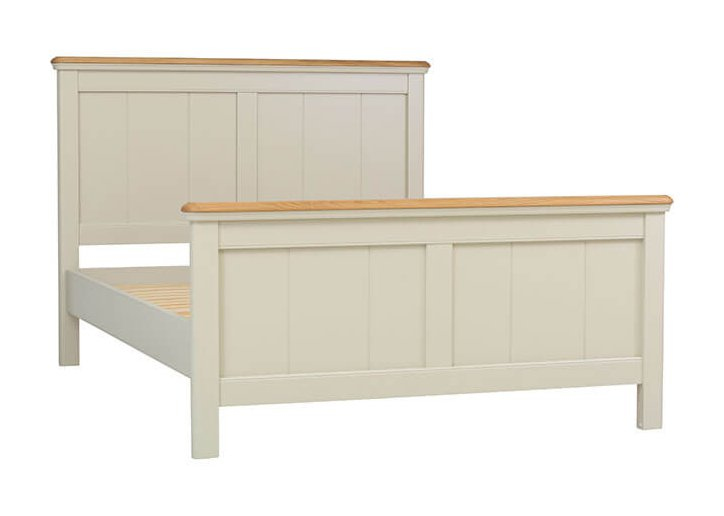 snuginteriors Lyon Tongue & Groove Panel Bed Frame (High Foot End)