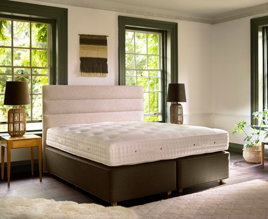 Hypnos Maple Natural Superb Mattress by Hypnos