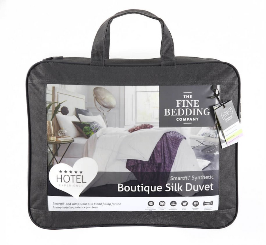 The Fine Bedding Company Boutique Silk Duvet by The Fine Bedding Company (Tog: 10.5)
