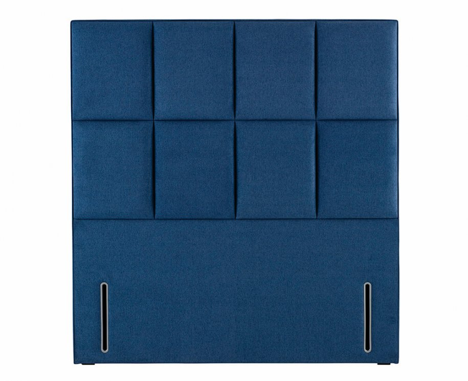 Victoria Headboard by Hypnos in Blue with Fixings