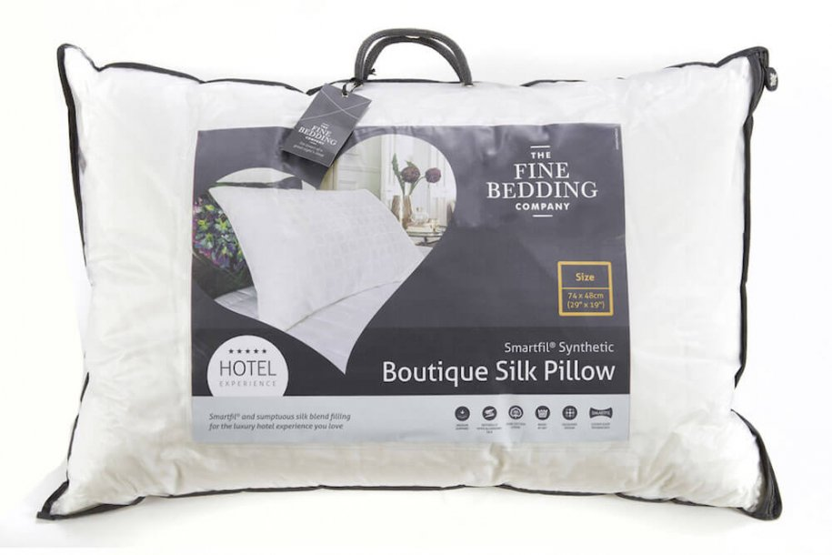 Boutique Silk Pillow by The Fine Bedding Company