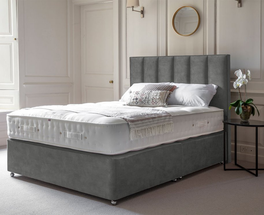 Deep Platform Top Divan with Orla Headboard