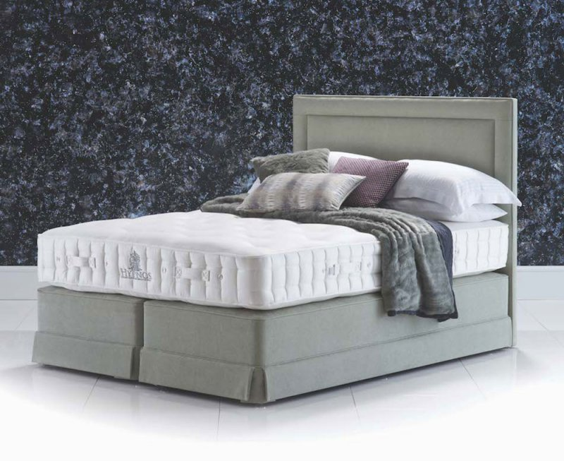 Aspen Supreme divan bed with Isobella headboard