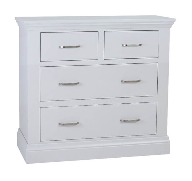 snuginteriors Hambledon Fully Painted Chest of Drawers - 2+2 Drawer