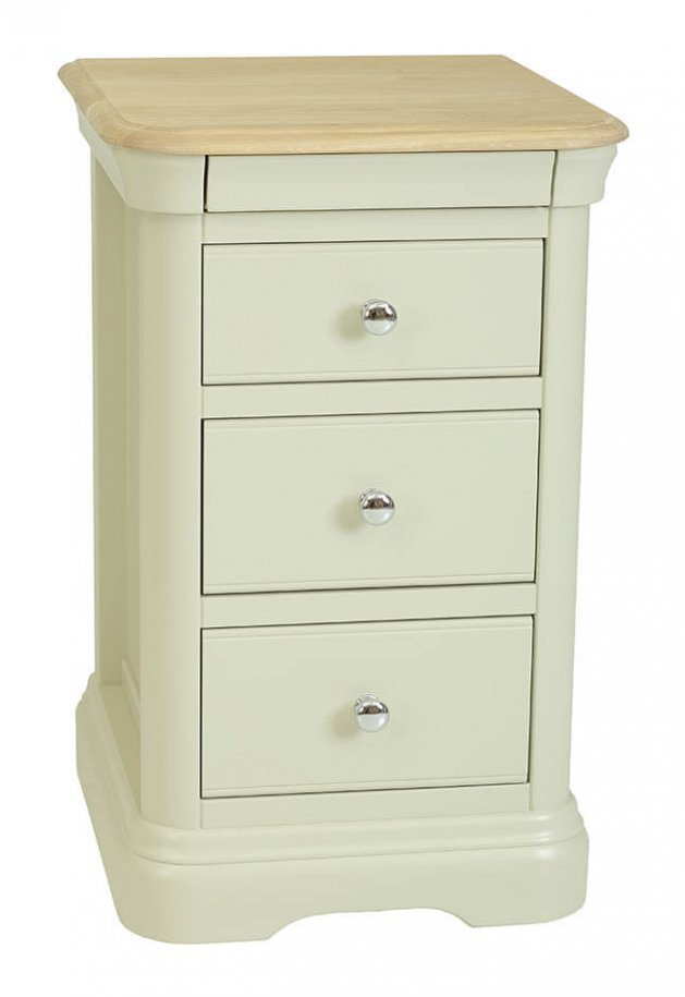 snuginteriors Lyon Large Bedside Chest - 3 Drawer
