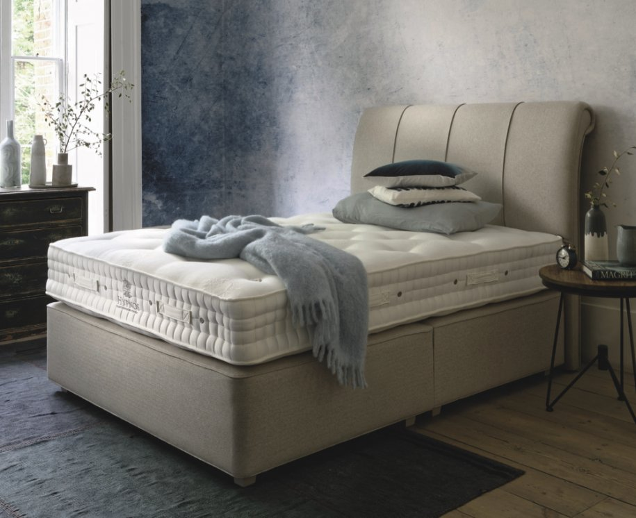 Hypnos Maple Natural Superb Divan Bed by Hypnos