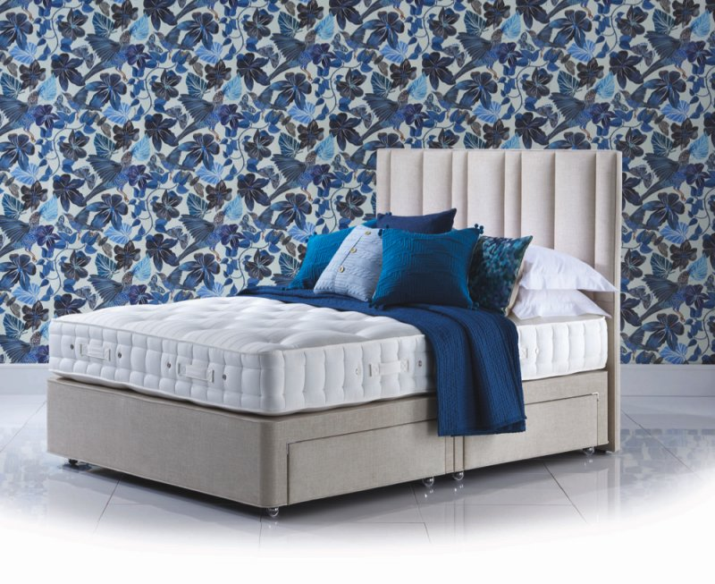 Orthos Elite Wool Divan Bed with Harriett Headboard