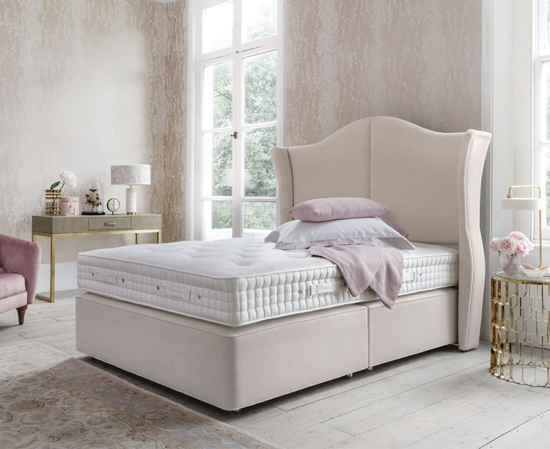 Hypnos Willow Natural Sublime Divan Bed by Hypnos