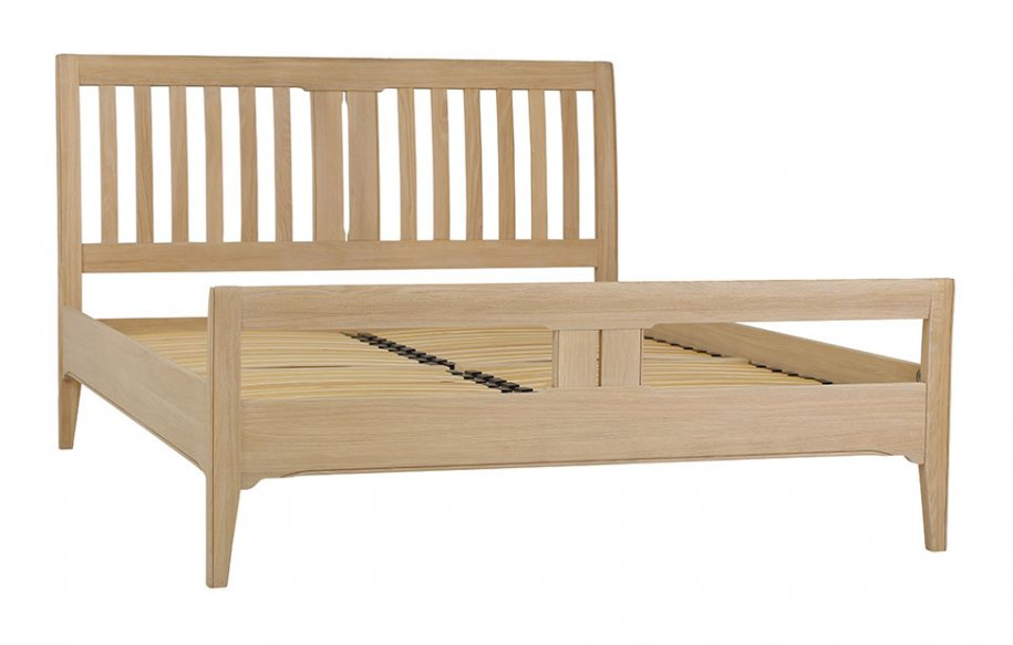 snuginteriors New England Slatted Bed Frame (High Foot End)