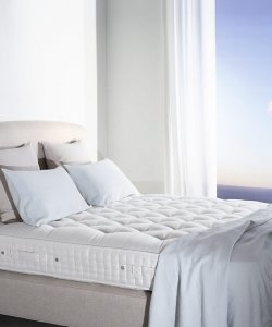 quality vispring mattress with 30 year guarantee